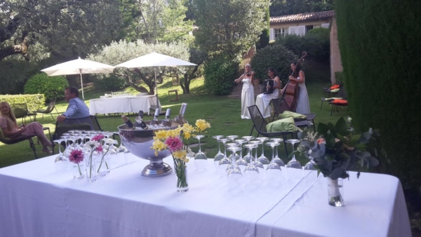 Private events Bastide du Calalou 3